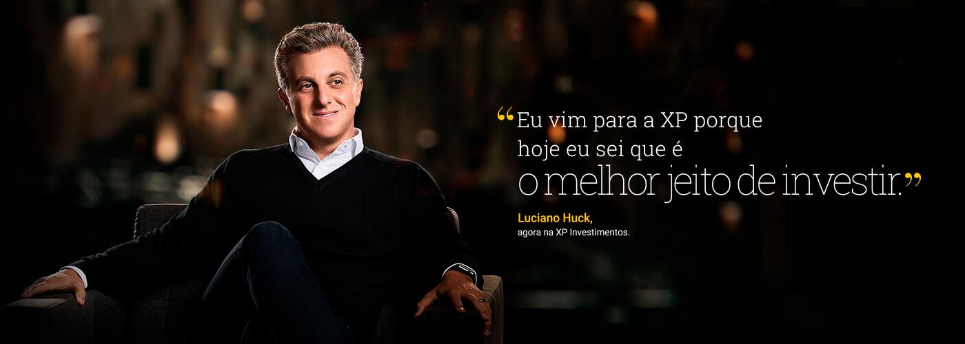 Luciano Huck na XP
